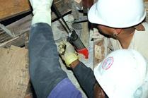 epoxy repair concrete column