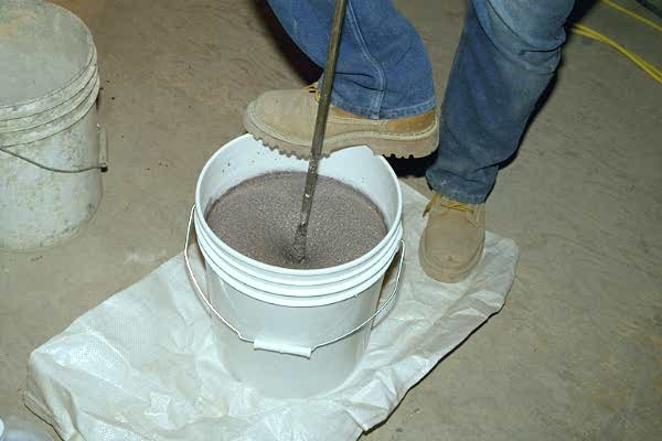 flexible epoxy polymer concrete