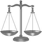 litigation concrete repair scales of justice